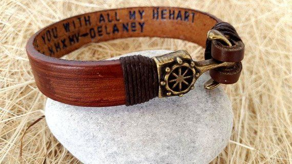 Express Shipping Father S Day Gifts Personalized Bracelet