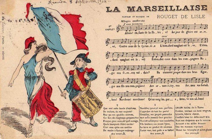 Les paroles de la marseillaise en entier - ToutComment
