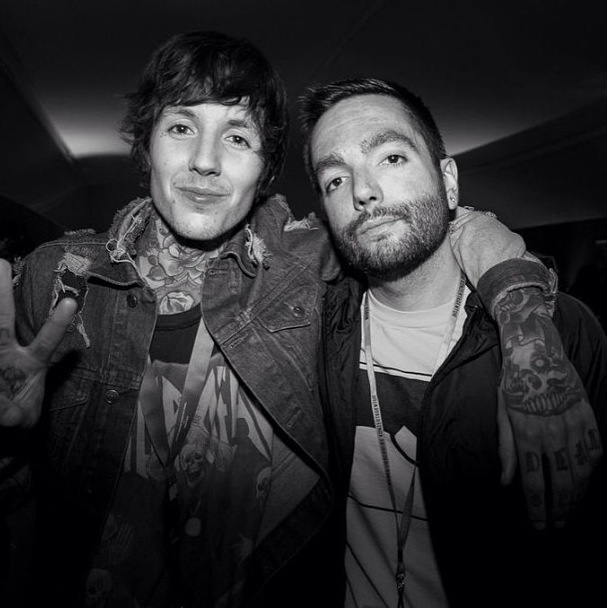 Oli Sykes and Jeremy McKinnon :)