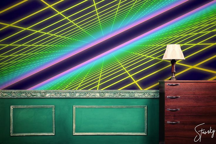 You can also have another dimension on your walls thank to this stunning 3D mural! @atari  #stawsky #design #murals #wallswork #tapetomat #wallpaper #wallpapers #designer #artist #anotherdimension #retrocomputer #fashion #decorate #16bit #wall #walls #vintage #retro #computer #3D #comingsoon #atari #art #virtualreality #8bit #chip #home #house #interior #interiordesign