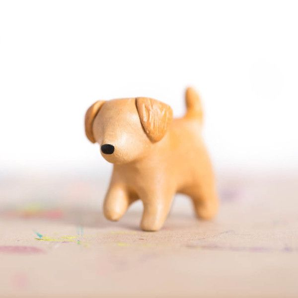 Carry le sugariest puppy with you and love unconditionally. Stats: Love +15 Cuddles +10 Kisses +10 Le puppy is made by hand, signed, and comes carefully packaged in a gift box and includes a small, la
