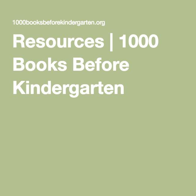 Resources | 1000 Books Before Kindergarten