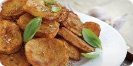 La patate douce : au four