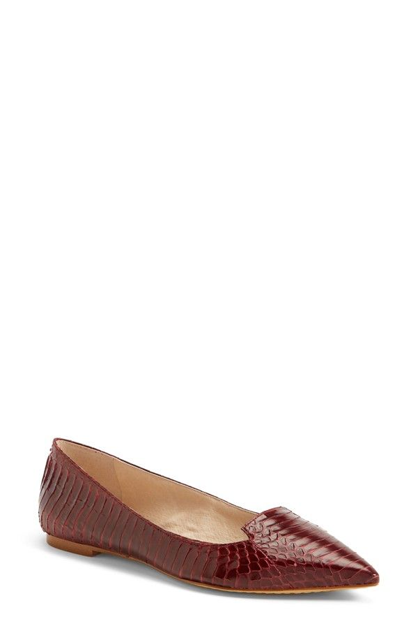 'Empa' Pointy Toe Loafer Flat (Women) (Nordstrom Exclusive)