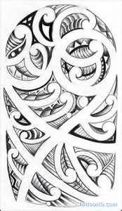 Maori Tattoo Patterns Tattoos #marquesantattoosmaori #marquesantattoospatterns