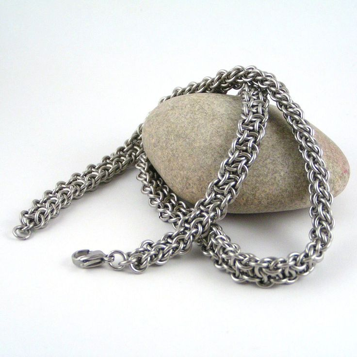 vipera, berus, chainmaille, chain, rings, stainless stell,