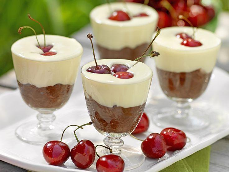 Chokladmousse i glas