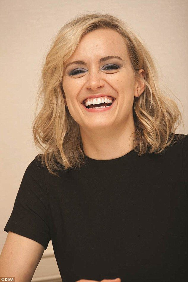 Glamorous:She rocketed to fame with her portrayal of prisoner Piper Chapman on Orange Is The New Black, but Taylor Schilling showed that she looks even better out of a orange jumpsuit for Diva magazine