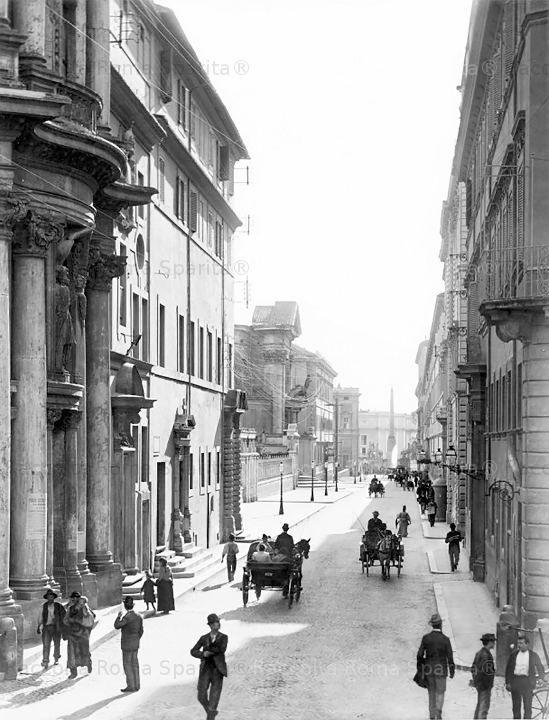 Foto storiche di Roma - Via del quirinale