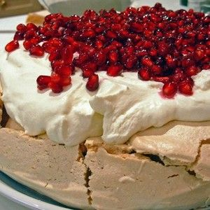 Торт «Павлова» со сливочным кремом