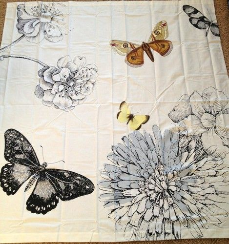 Curtains Ideas butterfly shower curtain : 17 best ideas about Butterfly Shower Curtain on Pinterest ...