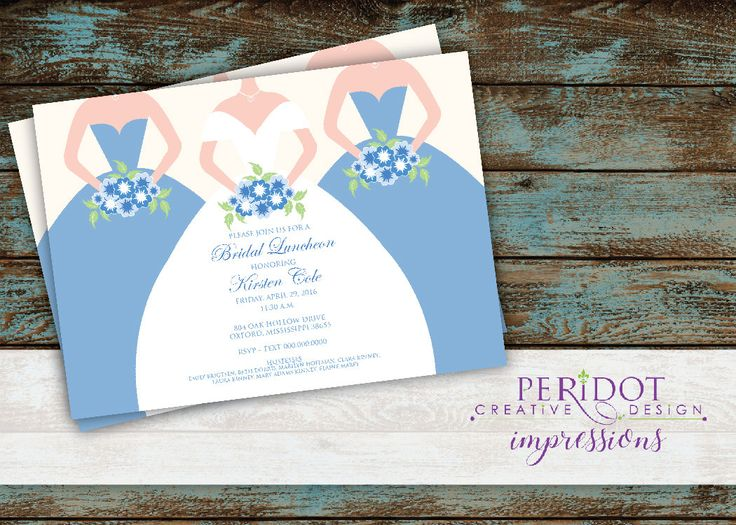 Day After Wedding Brunch Invitation: 1000+ Ideas About Bridal Luncheon Invitations On Pinterest