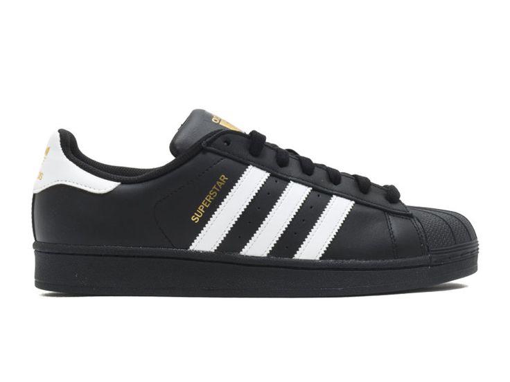Adidas Superstar Foundation Chaussures Adidas Pas Cher Pour Homme Noir / Blanc b27140