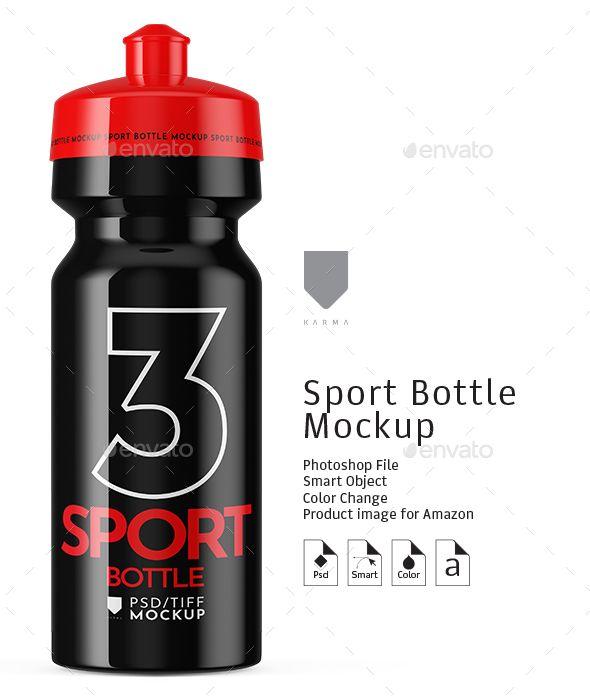Download Sport Water Bottle Mockup Sport Bottle Bottle Mockup Bottle