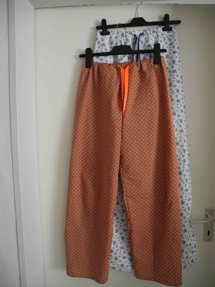 Pyjamahose mit gratis Schnittmuster