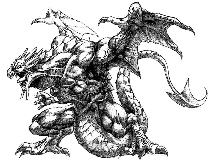 Blue Dragon from Final Fantasy VIII