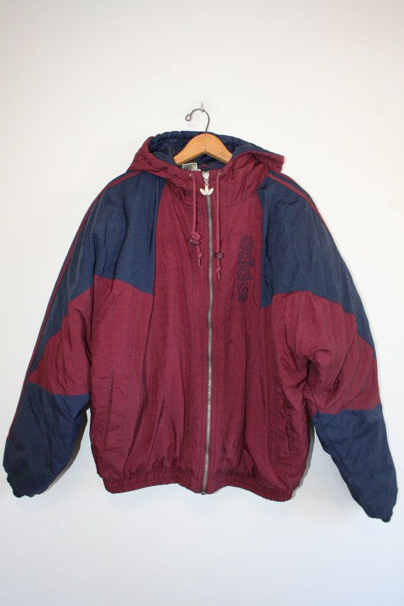 ADIDAS COAT size medium 90s puffy winter coat