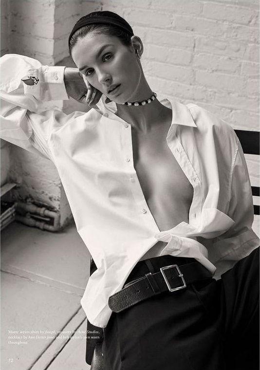Marte Mei van Haaster For Unconditional Magazine Spring-Summer 2017