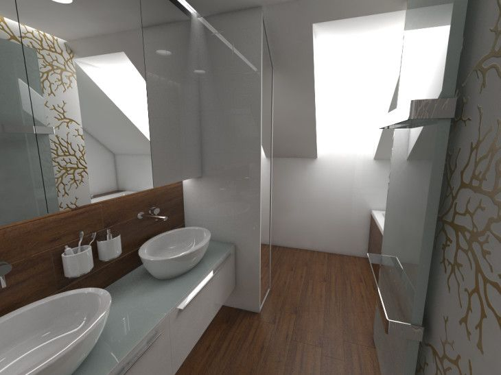 Outstanding Bathroom On Attic - pictures, photos, images