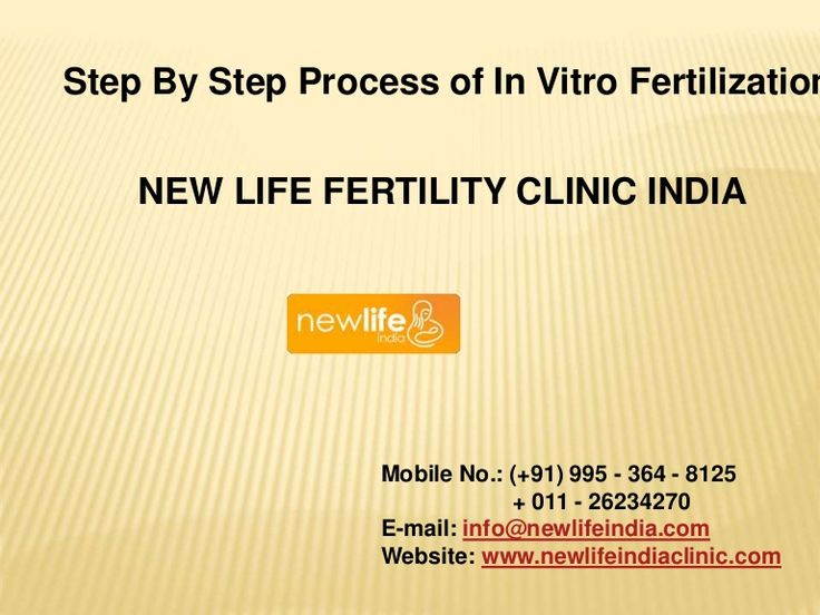 Step By Step Process of In Vitro Fertilization