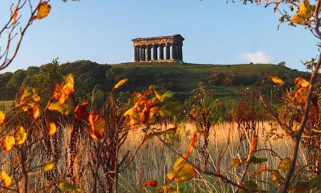 The Penshaw Monument can be seen from the Lambton Worm walk, one of the Guardian's favourite mythical walks. #GBwalk