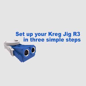 how to set up kreg jig