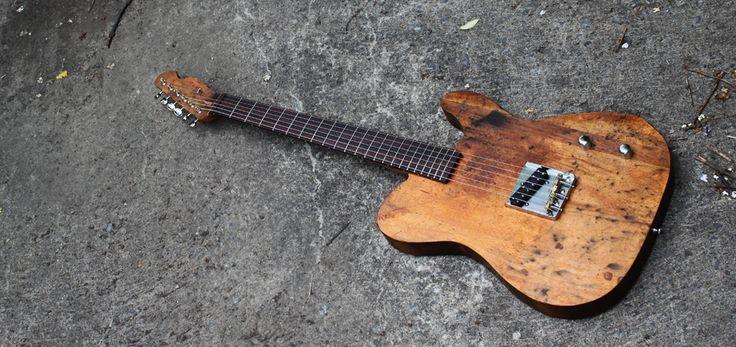 Meer dan 1000 afbeeldingen over Guitar op Pinterest  Basgitaren, Steampunk e -> Table Bass Télé