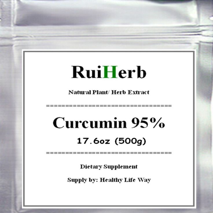 Curcumin 95% (Turmeric Curcumin Extract) Powder - Powerful Anti-Inflammatory Antioxidant-17.6oz (500g) free shipping
