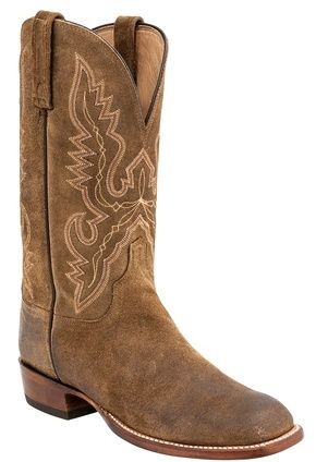 georgetowncowboyboots - H2513 Boone Lucchese Since 1883 Heritage Roper Boots…