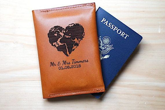 Couple Wedding Gift, Passport Holder Sleeve, Groom Gift From Bride, Monogrammed, Compass, Quote, Anniversary Gift, Personalized Wedding   About Bramble… Office employee by day. Leather Crafter by night. Daydreamer by necessity. All of our products are handmade in the United States (more specifically in my workshop). All of our leather is hand dyed and sourced from various locations; local and national. Your business supports a small American family and is sincerely appreciated. THIS LISTING…