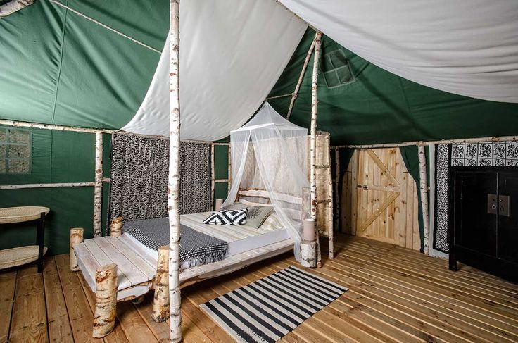 Klimatyczne Pokoje Namiotowe. Glamping w Polsce - Ośrodki wypoczynkowe, Pensjonaty, Spa, Romantyczny weekend, Nurkowanie   Mazury