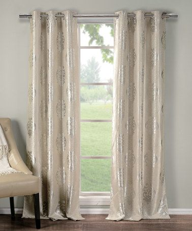 103 Best Images About Curtains Silver And Gold On