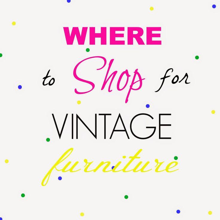 Erin Hodges design & illustration: Where to Shop for Vintage Furniture eBook - Explai...