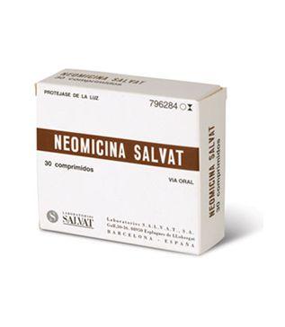 nom: NEOMICINA SALVAT Comp. 500 mg p.a: neomicina indicacions: Diarrea de origen bacteriano