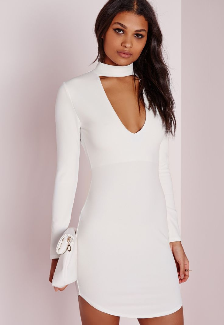 Missguided dresses white for prom
