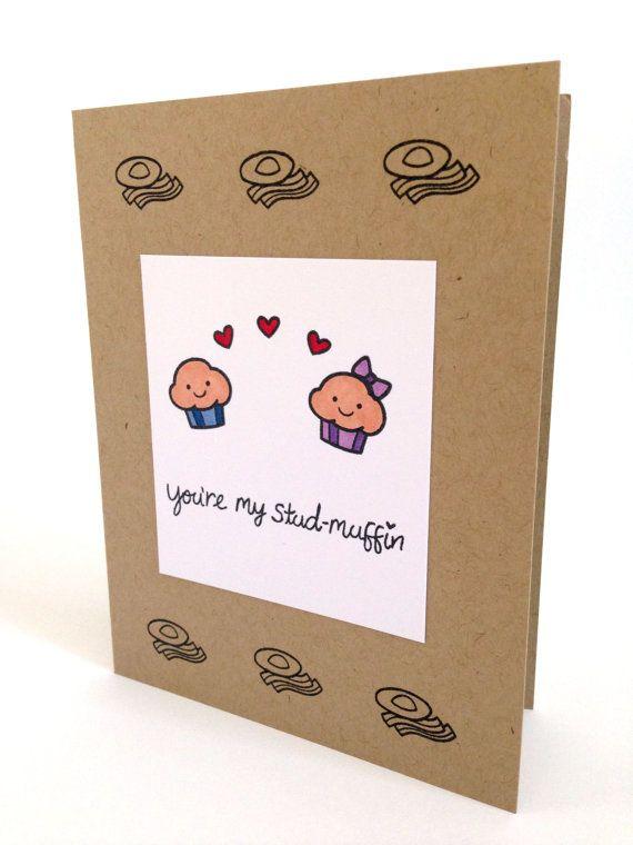 Novio divertido tarjeta  tarjeta  tarjeta de aniversario de