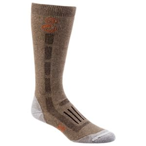 SHE Outdoor Pro Team Over The Calf Socks with Scent Control for Ladies - Brown/Silver - M