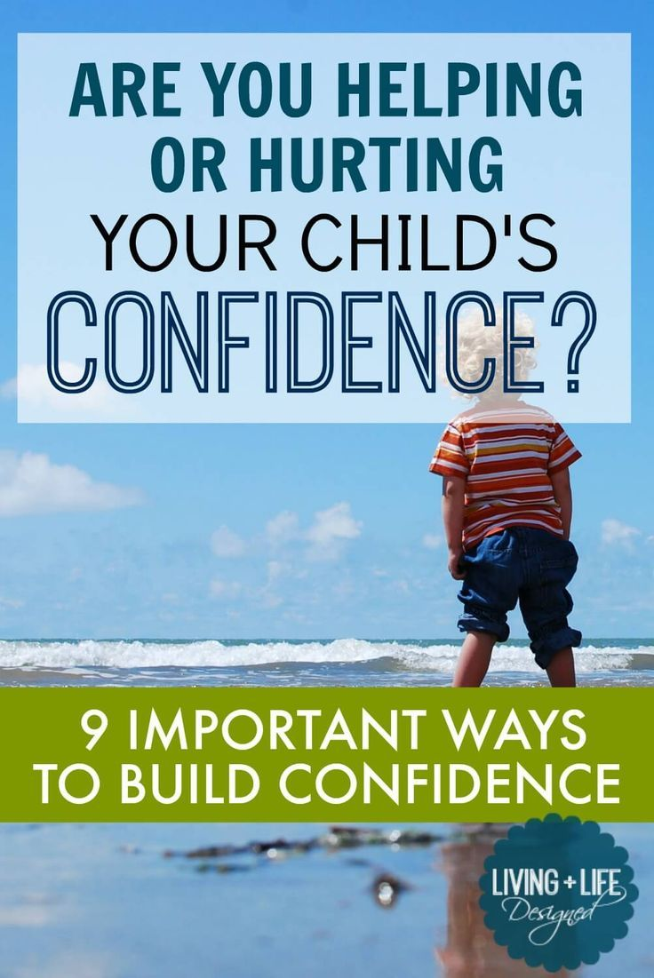 EVERY PARENT SHOULD READ THIS. A great article on how to build children's confidence. I need to learn to let our kids fail instead of rescuing them. I understand now how important this is. Saving and sharing with all my Moms.