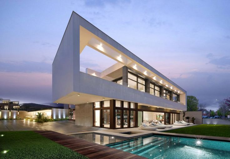 Super Villa, a private residence in Los Angeles renovated by Wolf Architects; via @HomeDSGN