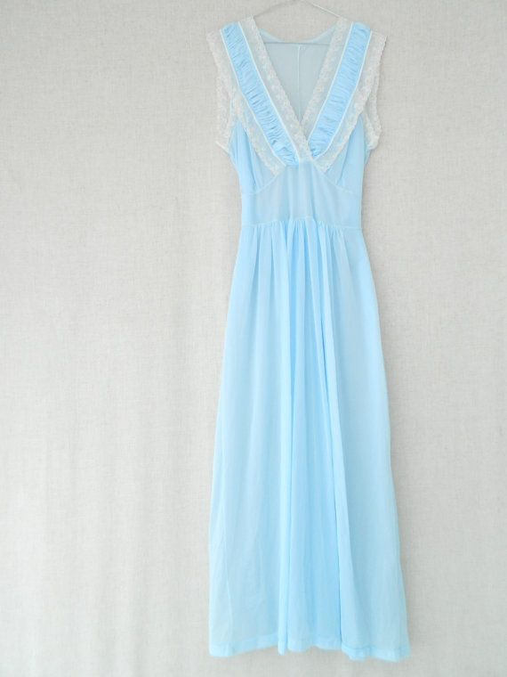 BettyBLUE . vintage women's long maxi by ThePaisley5Vintage