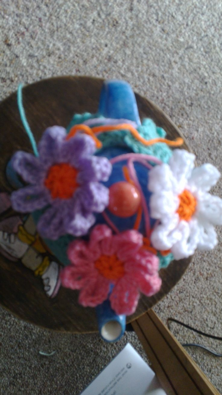 Crocheted this one for my mum, not quite finished