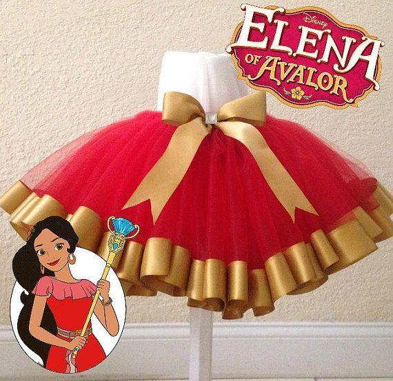 Elena of Avalor tutu by CreationsByBeeHappy on Etsy