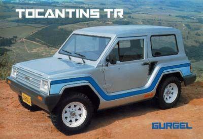WV Brasil - Gurgel Tocantins TR 70's