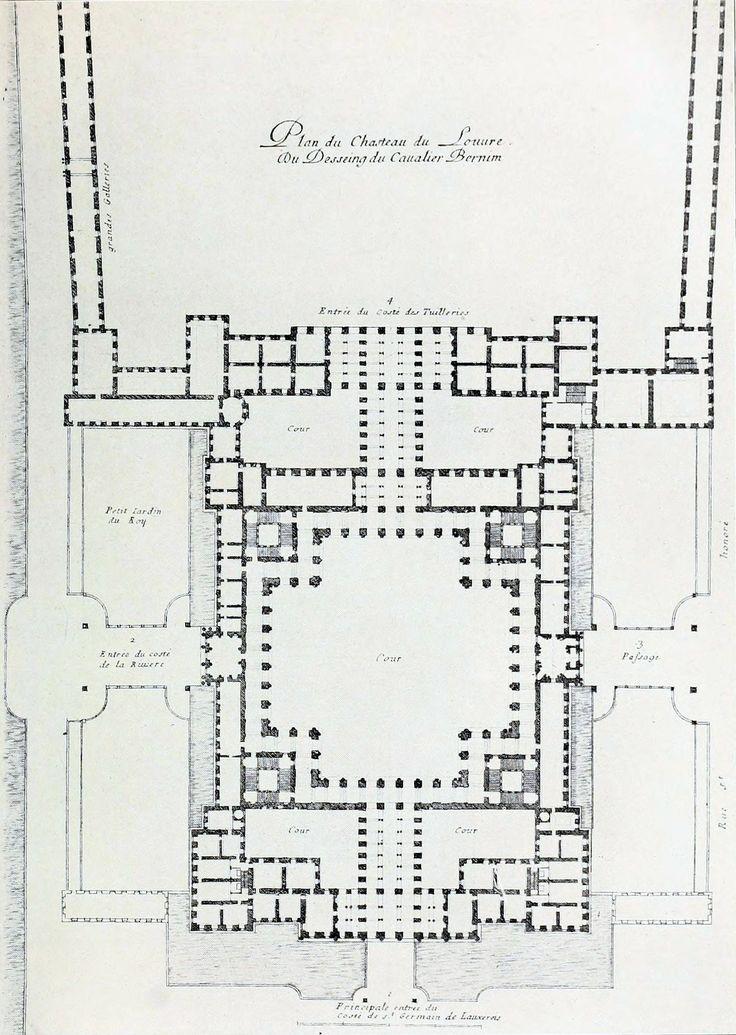 Bernini's design for the Louvre, Paris