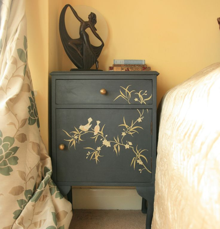One Of My Designs   Bird And Bamboo Cabinet,. Find This Pin And More On  Inspiration U0026 Ideas For Gorgeous Hand Painted Decorative Furniture ...