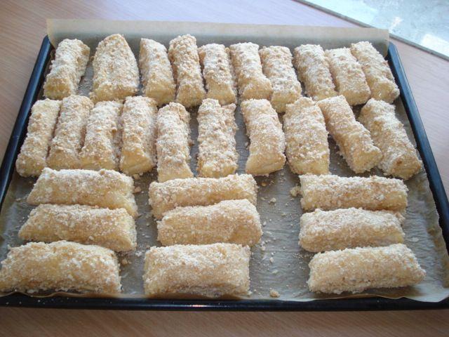 Пироженки «Сладкие пальчики» : Выпечка сладкая