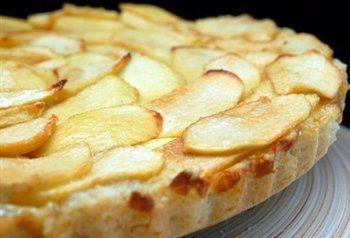 Franse appeltaart met roomkaas