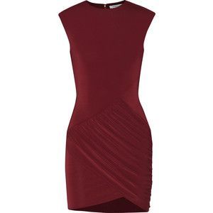 Elizabeth and James Warren ruched jersey mini dress