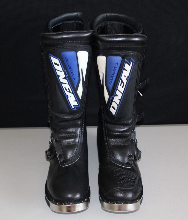 Size 9 Black  O'neal Rider Motocross Dirt Bike Boots MX Off Road Racing Mens  #ONeal