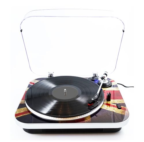 Jam Turntable Record Player by GPO